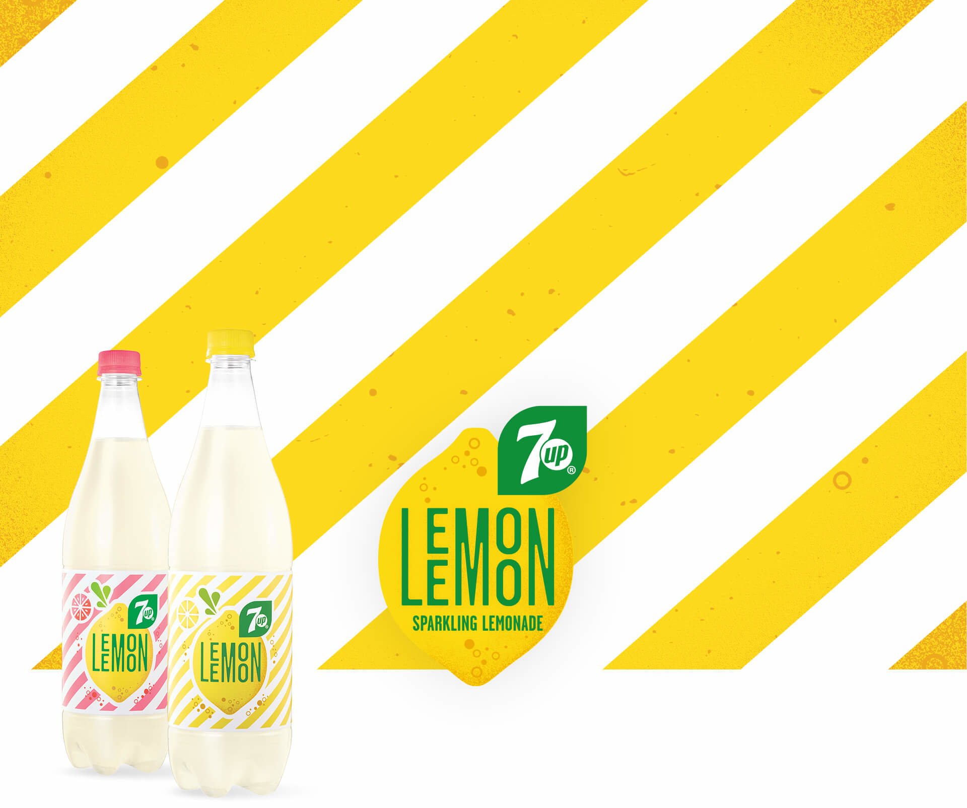 Lemon Lemon header z butelkami