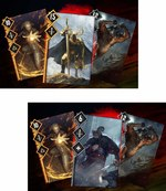 The Witcher cards